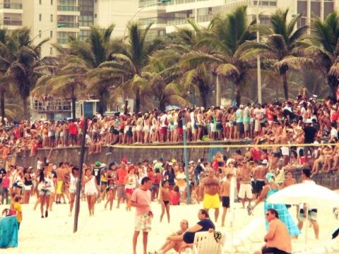 Rio Strand von Sao Conrado