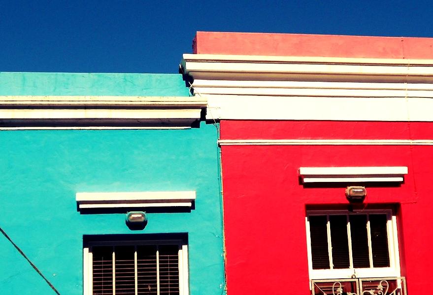 Farben und Menschen in Südafrika