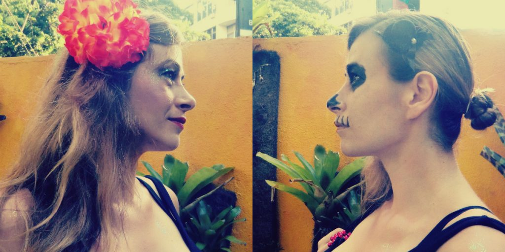 Kostüm beim Karneval in Rio