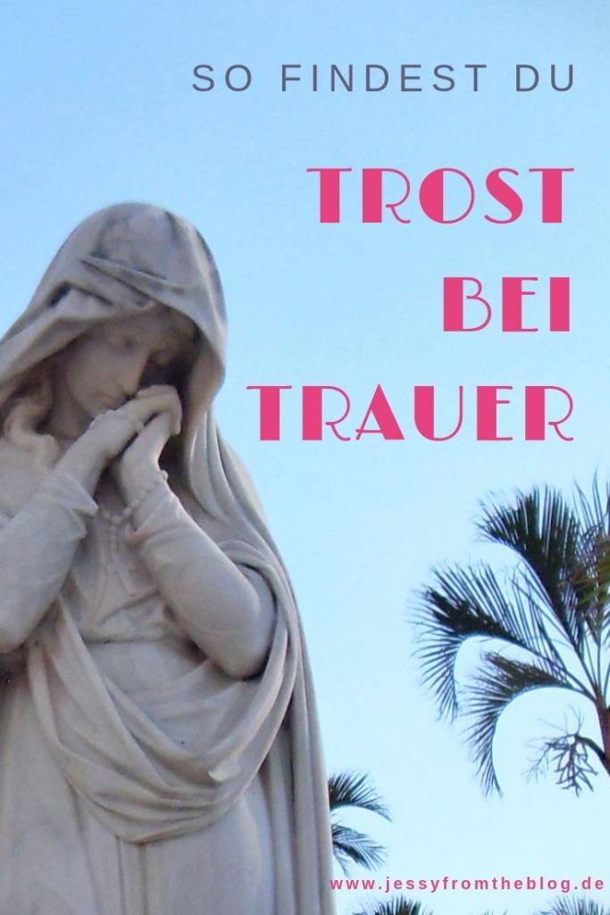 Trost bei Trauer