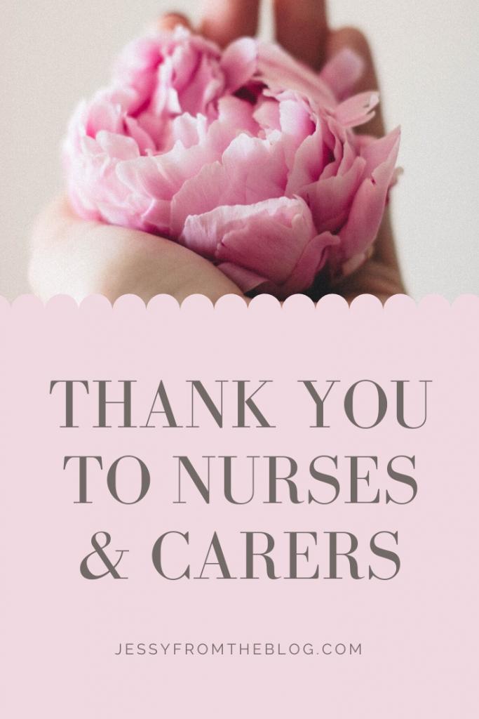 Thank you nurses and carers