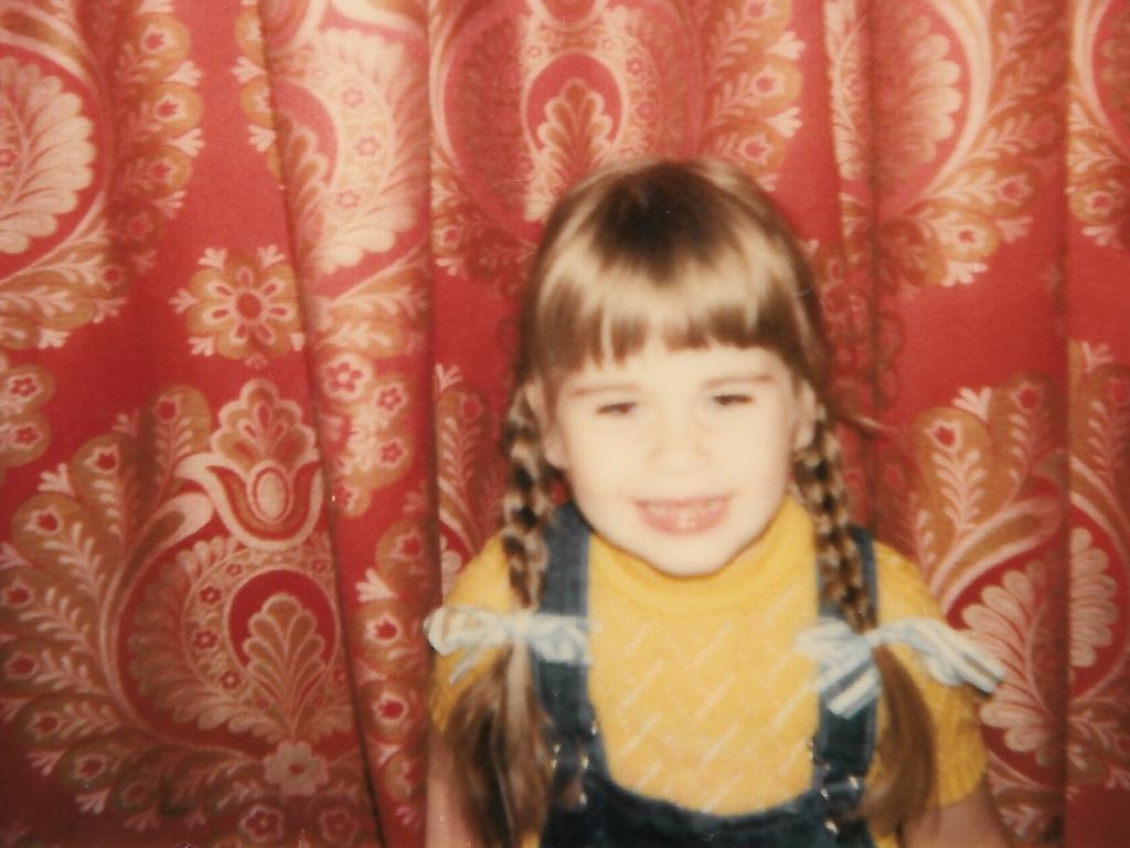 Jessica Wagener als Kind