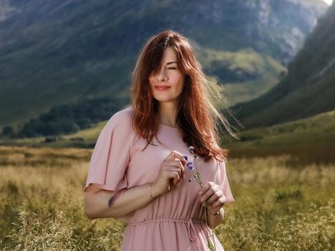 Fotoshooting in Schottland
