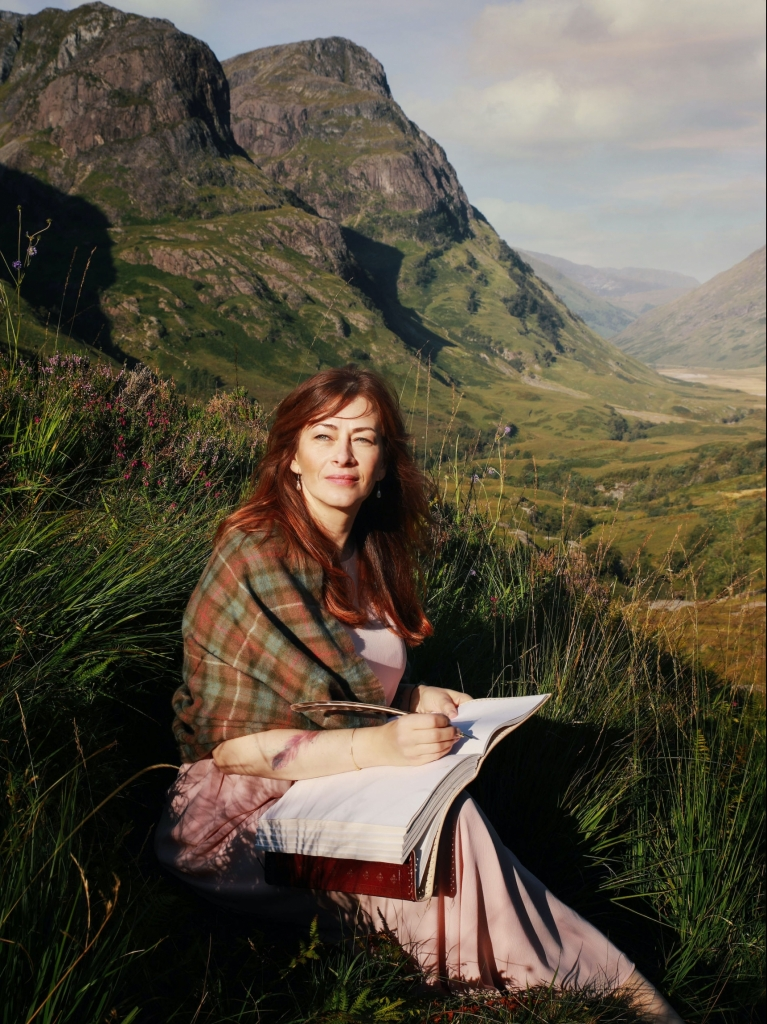 Jessica Wagener in Schottland